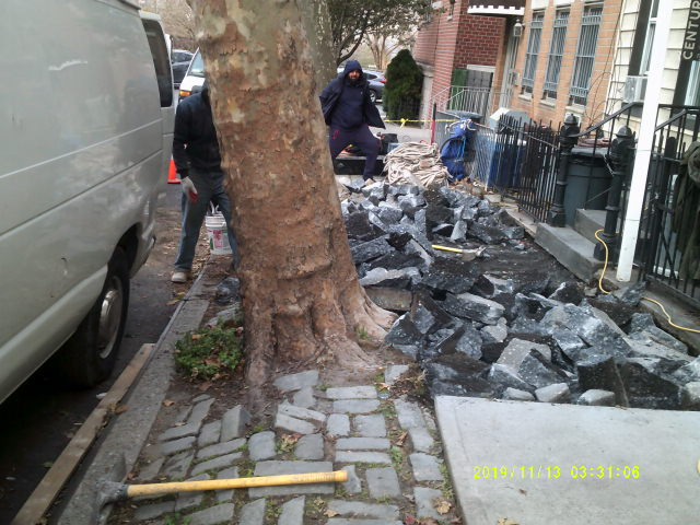 Concrete Sidewalk Repair NY