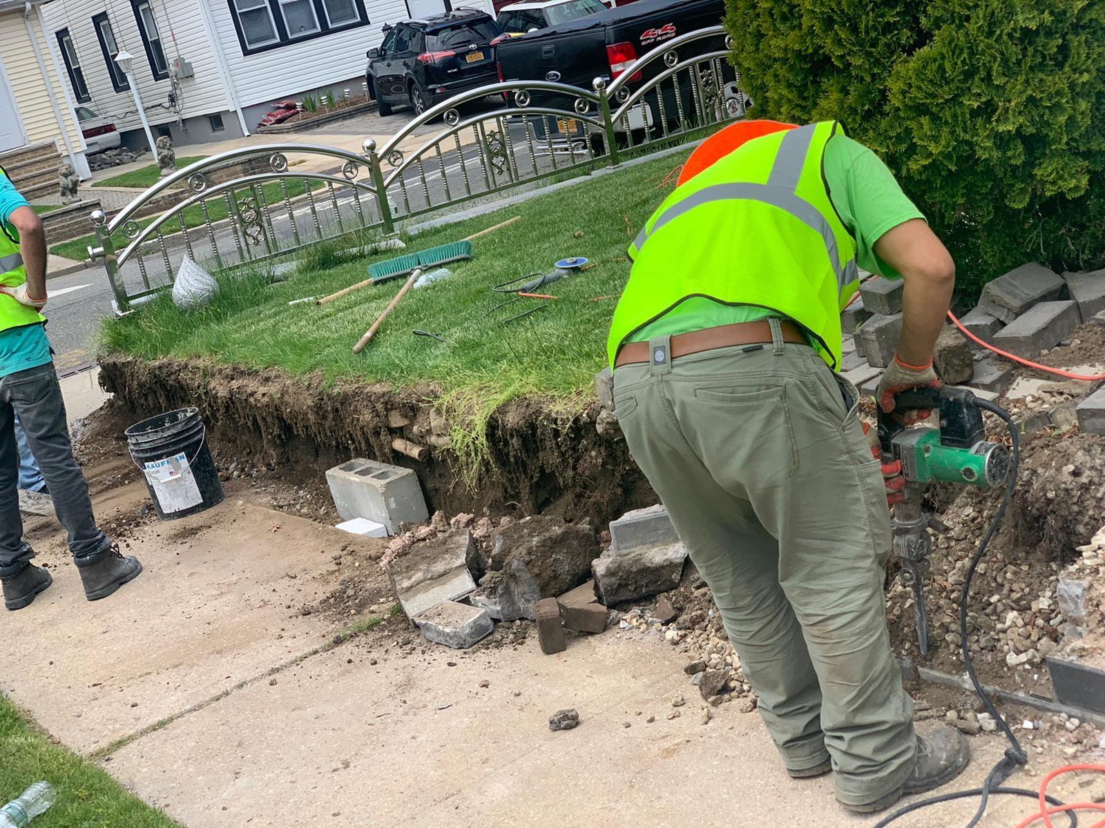 sidewalk crack repair