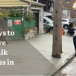 Easy Ways to Remove Sidewalk Violations in NYC