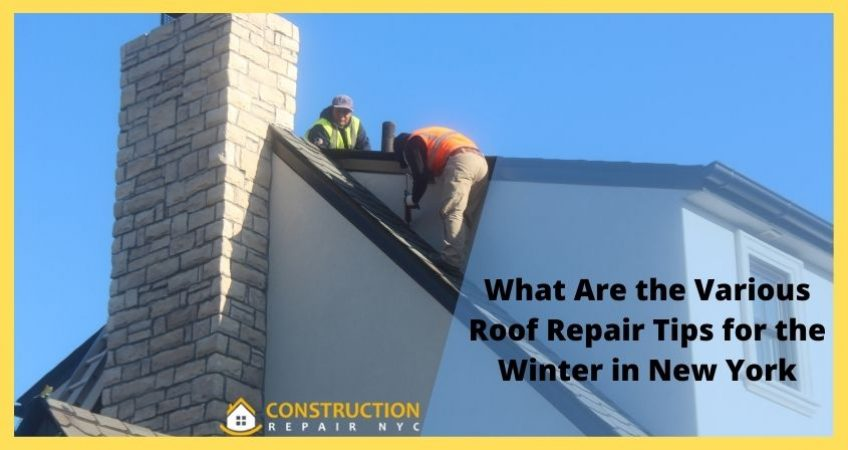 What are the Various Roof Repair Tips for the winter in New York