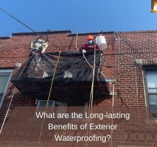 What are the Long-lasting Benefits of Exterior Waterproofing